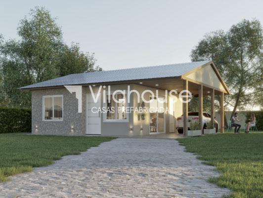 Casa prefabricada modelo 3020 vilahouse for Modelos casas prefabricadas