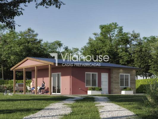 Casa prefabricada modelo 3040 vilahouse for Modelos casas prefabricadas