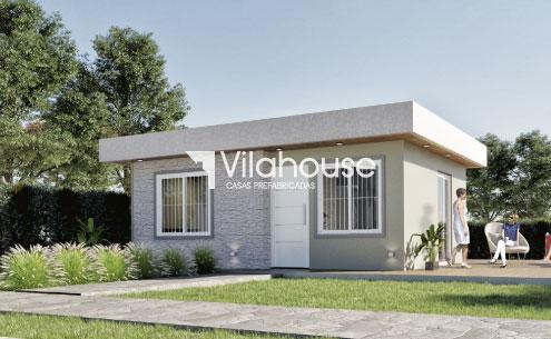 Minimalistas casas prefabricadas vilahouse for Modelos de casas procrear clasica