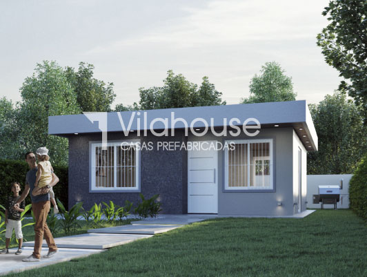 Casa prefabricada modelo 4030 vilahouse for Modelos casas prefabricadas
